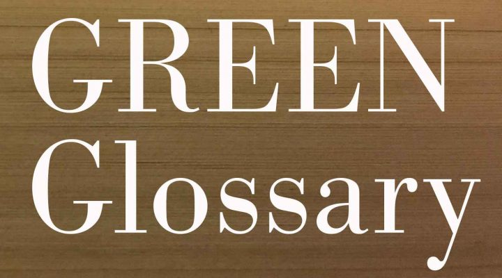 Good to know: New in the GREEN Glossary