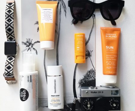 Non-toxic suncream – stars from nature