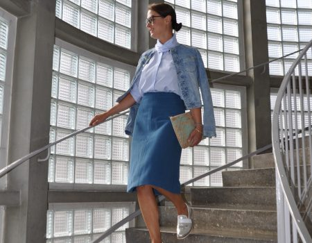 Office-Outfit mit Bluse – my-GREENstyle-Look