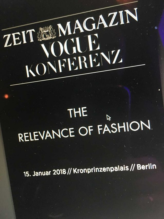 Berlin Fashion Week Ticker