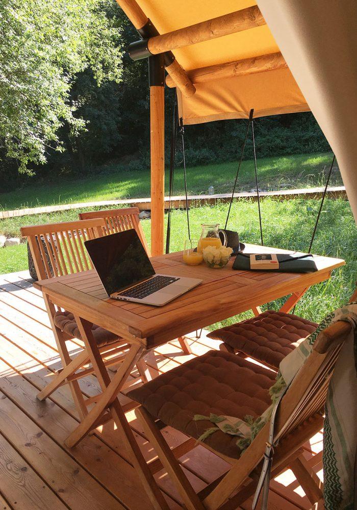 Das beste Outdoor-Office ever