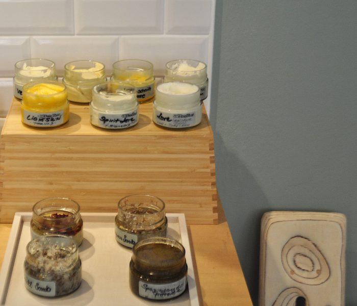 Duftet herrlich - homemade Peelings in der Creme Bar