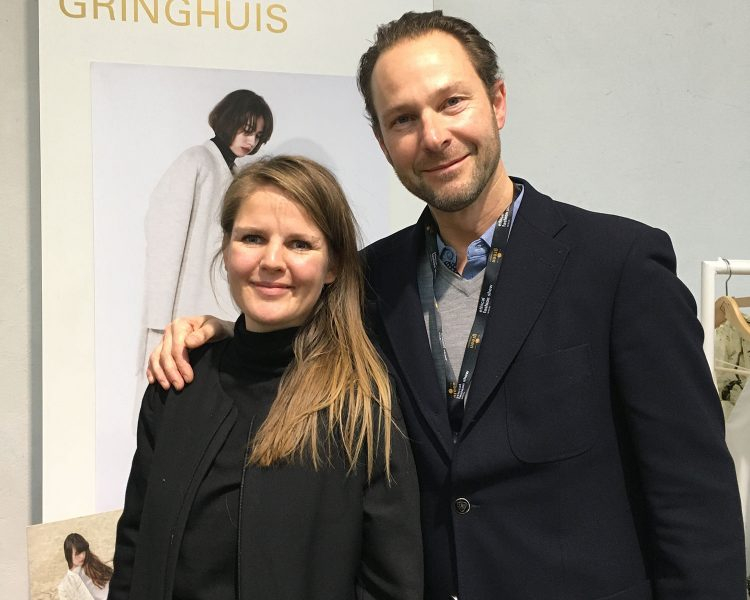 Elsien Gringhuis und Businesspartner Simon Angel