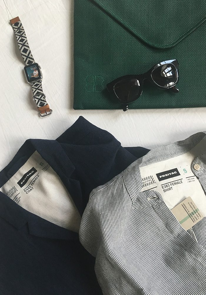 Meine Favoriten aus der neuen Kollektion? Dieses Hemd und natürlich der Mantel