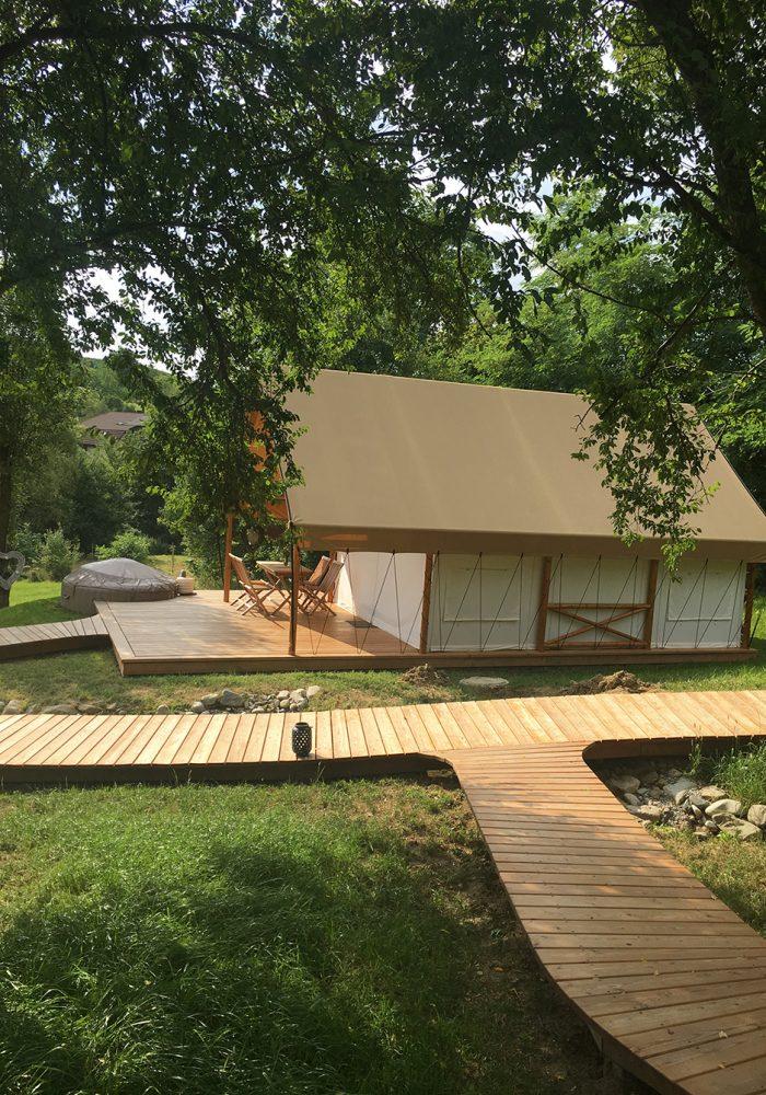Mitten in der Natur: sechs traumhafte Safari-Zelte