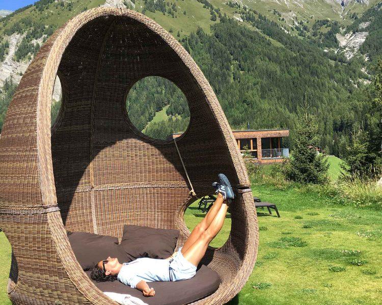 Mein Lieblingsplatz: hier kann ich restlos entspannen