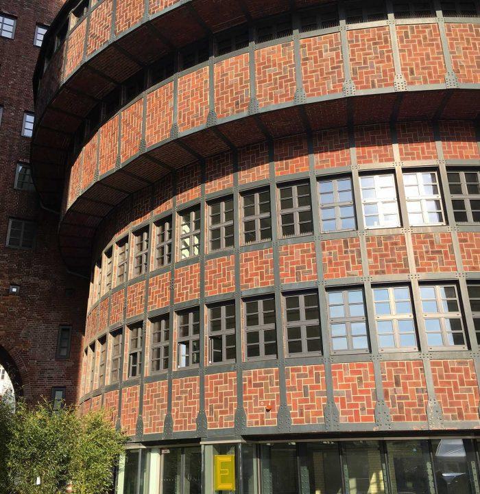 Das eWerk ist mal wieder eines der Hammer-Gebäude wie es sie fast nur in Berlin gibt