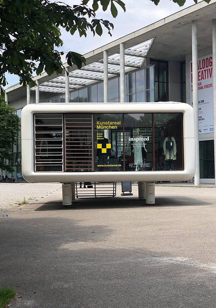 Ein Stückchen Amsterdam in München: Inspired Concept Store im Loftcube an der Pinakothek der Moderne