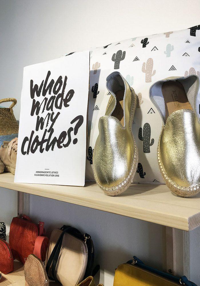 Oder besser #whomademyshoes? Julia von Jute Laune wohnt bei mir in der Straße und lässt die Schuhe in ihrer spanischen Heimat produzieren. Good to know!