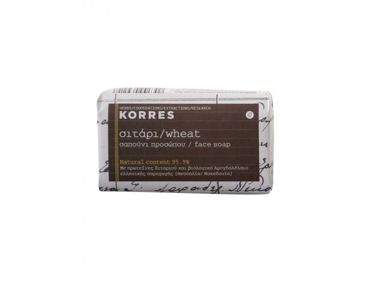 Korres: Wheat soap