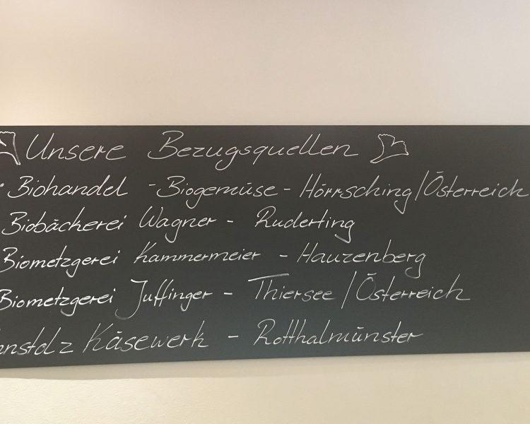 Regional und saisonal: mit diesen Unternehmen arbeitet man im Falkenhof zusammen