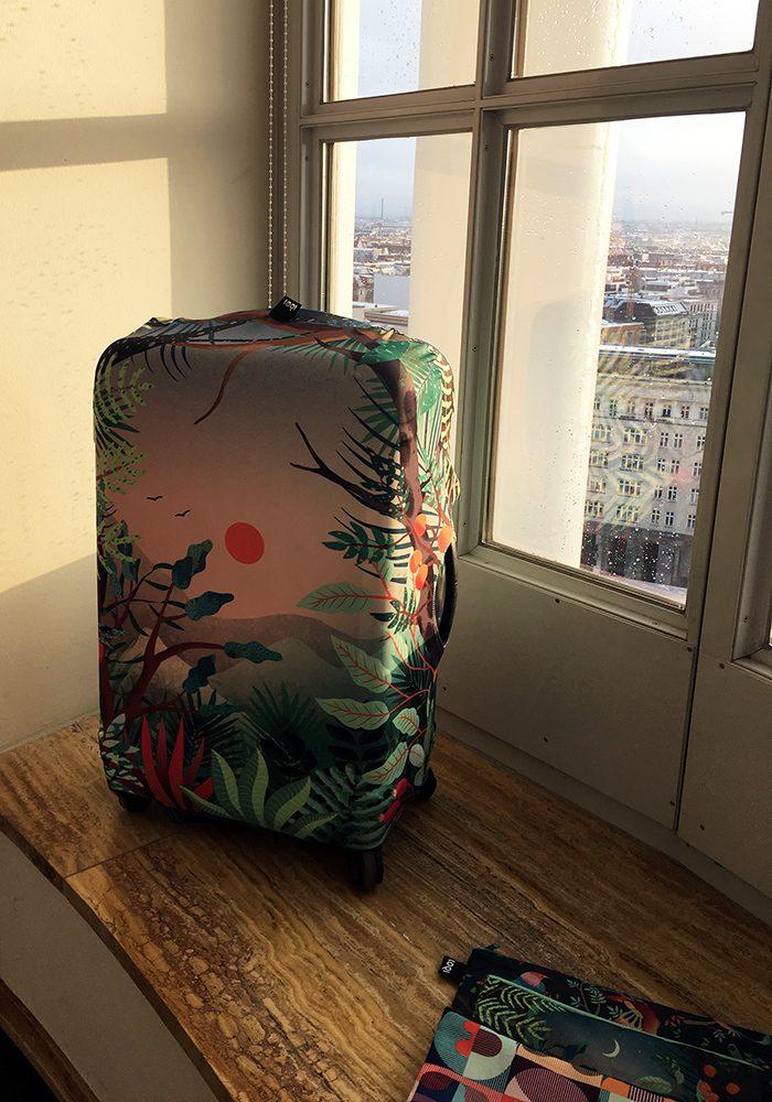 Gute Reise mit den Kofferhüllen von LOQI
