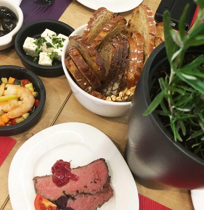 Herrlich frisch und unglaublich lecker - die Kleinigkeiten in der Gourmetbar (auch für Lunch-Gäste!)