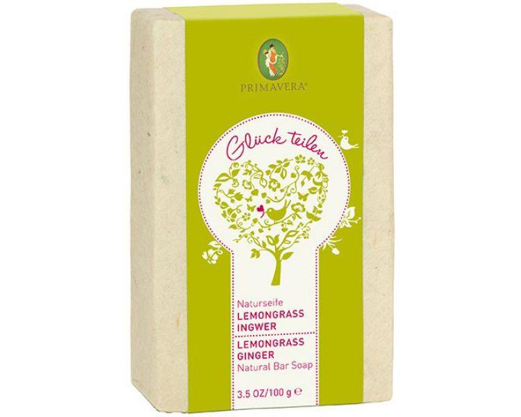 Primavera: Naturseife Lemongrass Ingwer