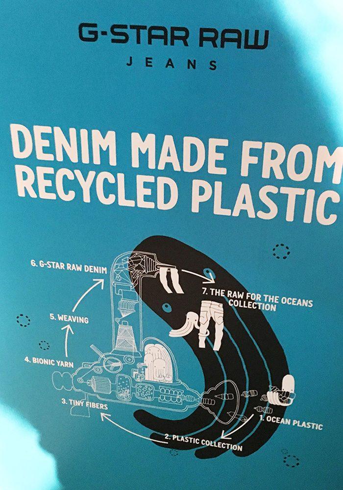 Meeresplastik ist ein XL-Problem, auf das G-Star als erste Denim-Brand mit der Raw for the Ocean KOllektion aufmerksam gemacht hat
