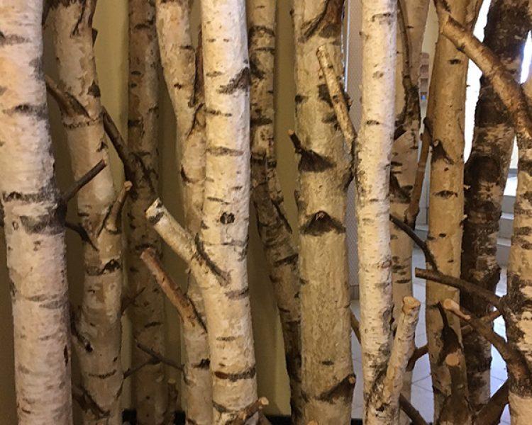 Eins mit der Natur: Deco-Detail im Refugium Lindenwirt
