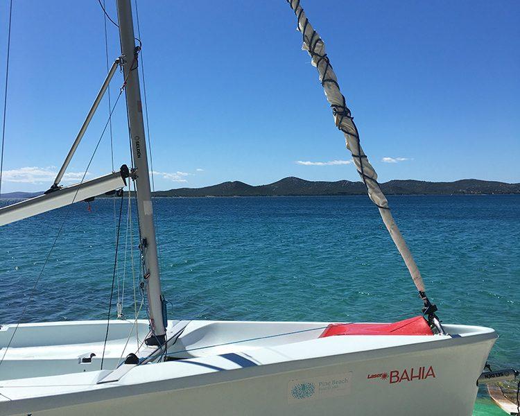 Vom Opti bis zum Laser Bahia - wir waren jeden tag auf dem Meer unterwegs
