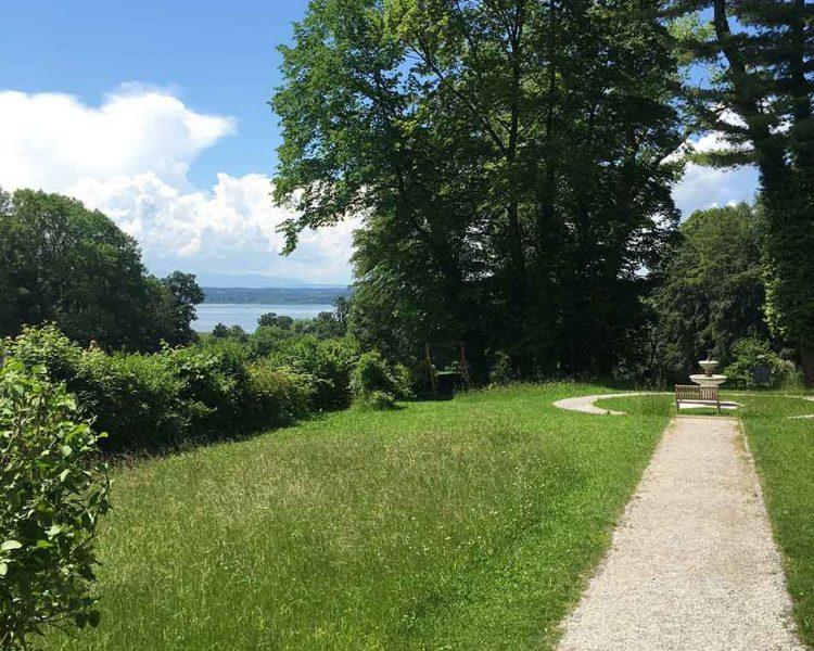 Ort der Ruhe: der Schlosspark