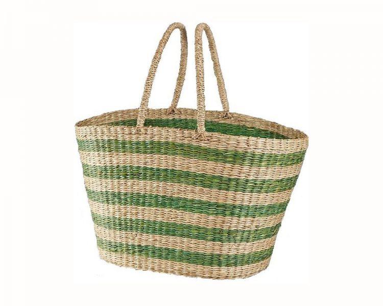 Tasche Seaweed, um 24 €. Erhältlich über Plan Shop
