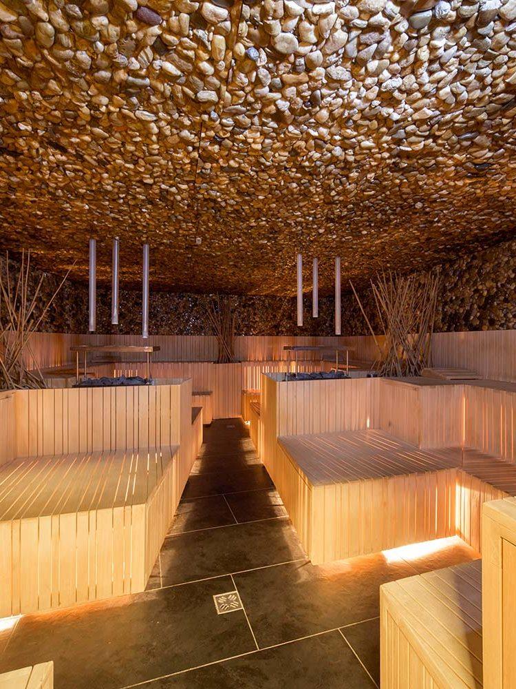 Für mich als Sauna-Fan eines der absoluten Highlights in der Olimia Terme
