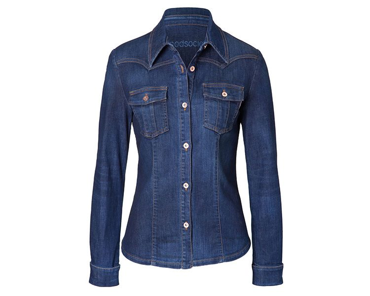 Womens Shirt Jacket - Cloud, um 255 Euro