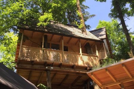 Treehouse Green Resort Garden Village Bled