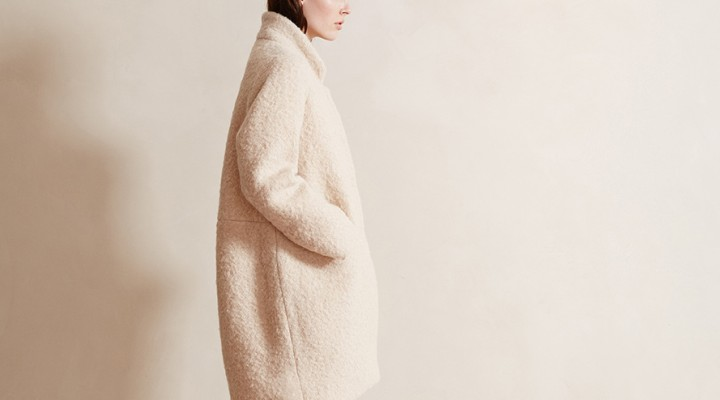 Eco-Darling: bouclécoat from Lanius