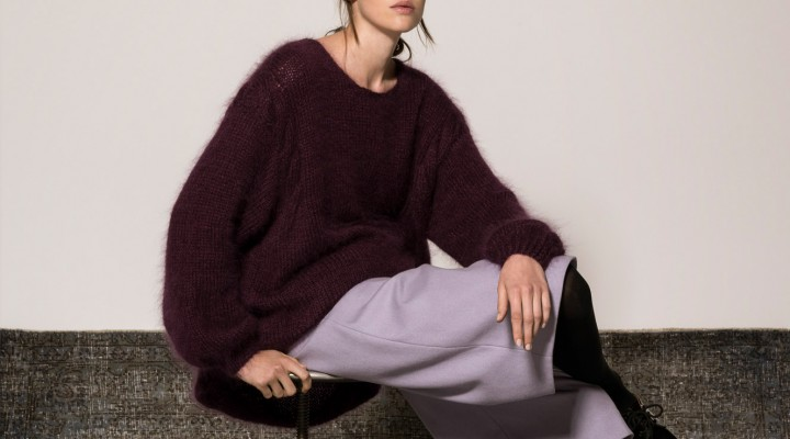 Eco-Darling: the mohair sweater from Isabel de Hillerin