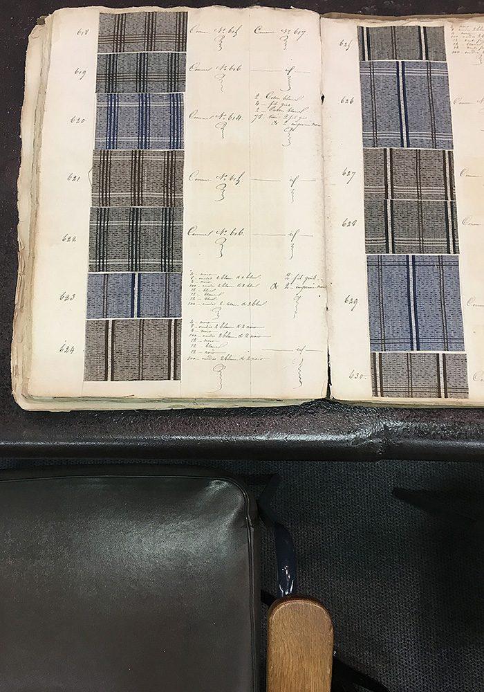 In diesem Archiv entsteht Textilgeschichte.
