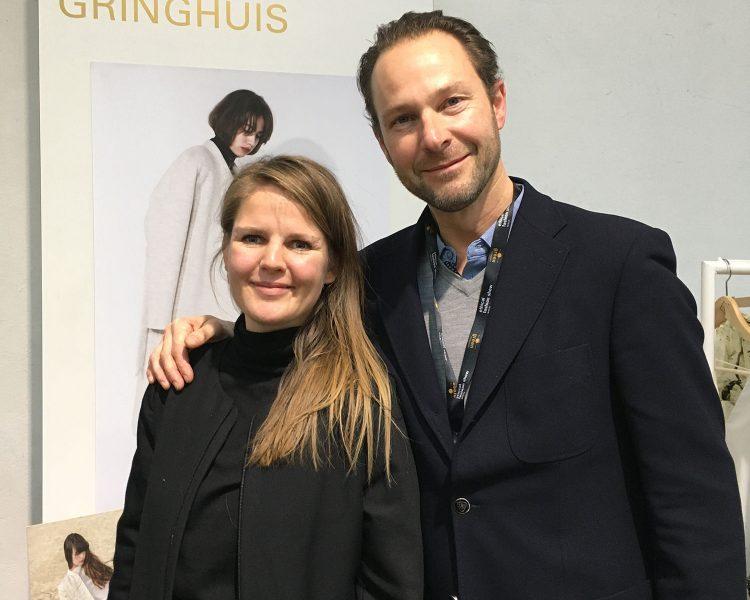 Elsien Gringhuis und Businesspartner Simon Angel