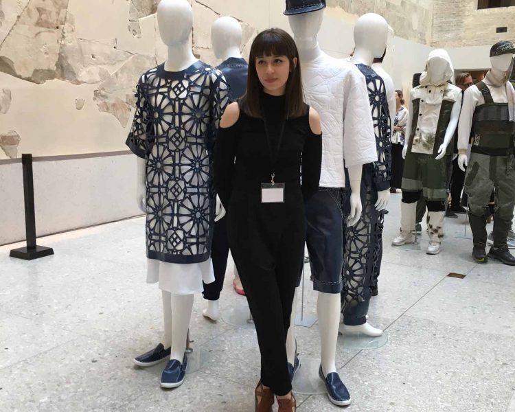 "European Fashion Award - Fash 2016:  Aylin Tomta vor ihrer Kollektion ""Sons of Shiva"""