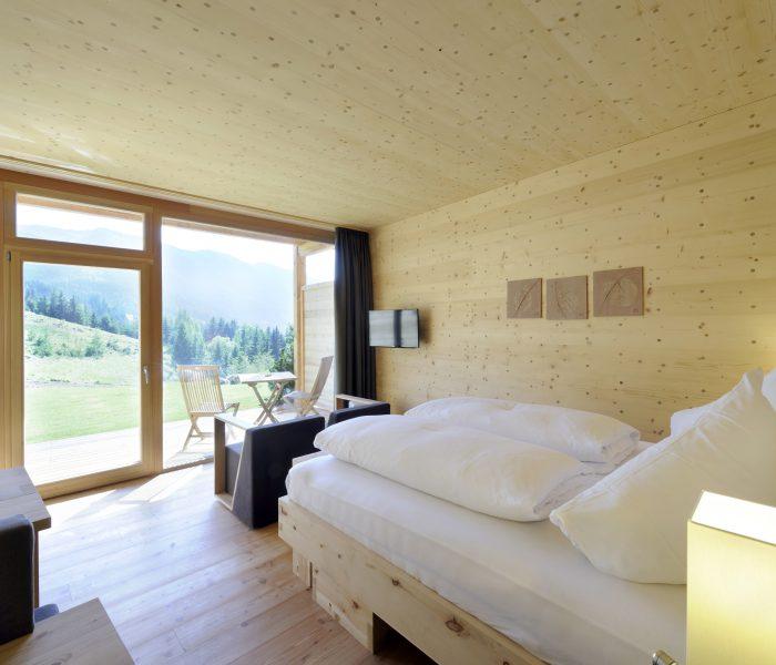 Mondholzzimmer für ruhigen Schlaf (c) Günter Standl