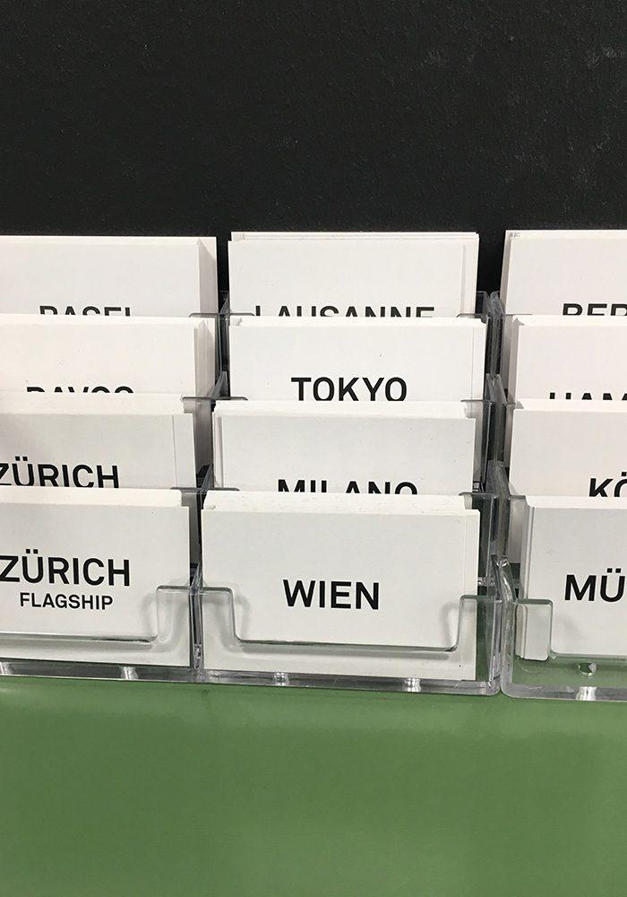 Von der Schweiz in die Welt - die FREITAG Stores