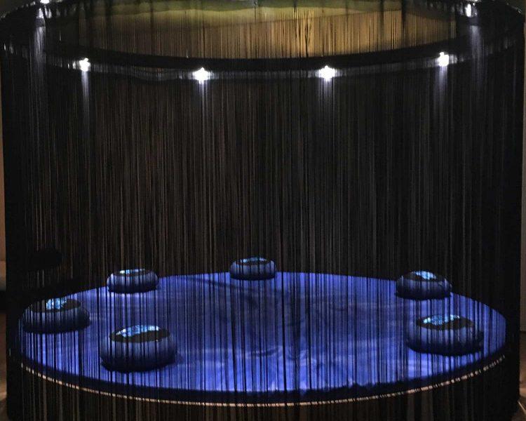 Ort der Ruhe und Entspannung - hier lässt es sich nach der Sauna gut relaxen