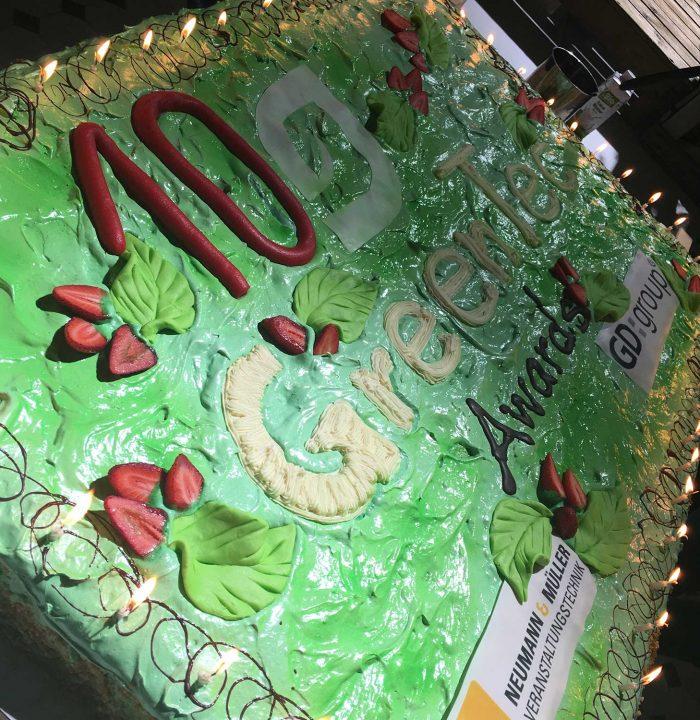 Happy Birthday - mit seinem Kuchen kann man schon ganz ordentlich feiern!