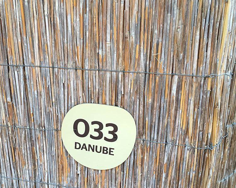 Vergangenes Jahr haben wir in der Donau gewohnt