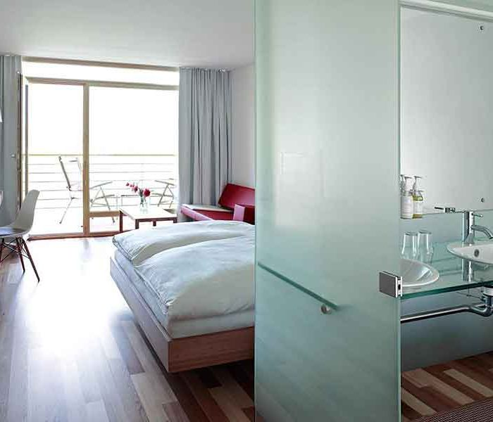 Minimalistischer Look (c) Hotel Post Bezau