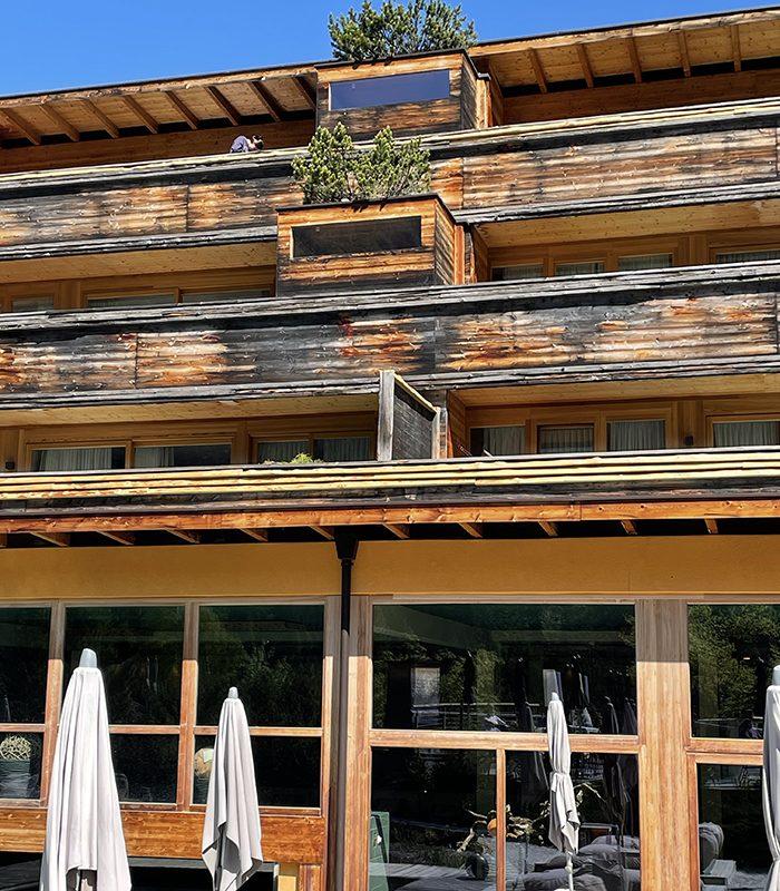 So natürlich wie die Natur - Balkone mit Patina