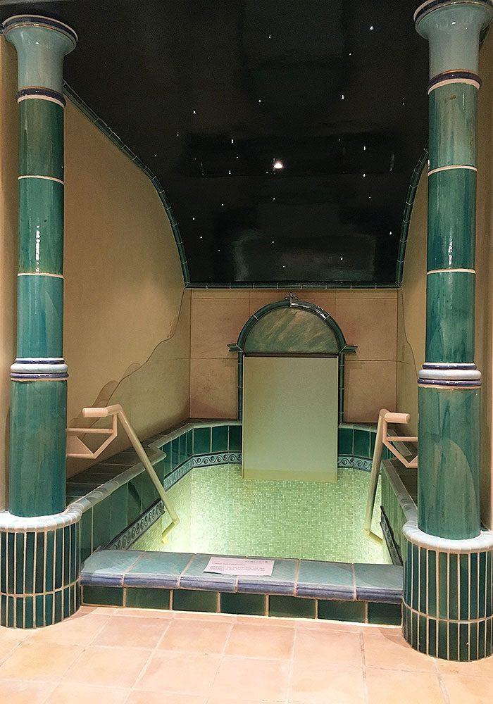 Gibt es was schöneres als so ein Tauchbecken nach der Sauna?