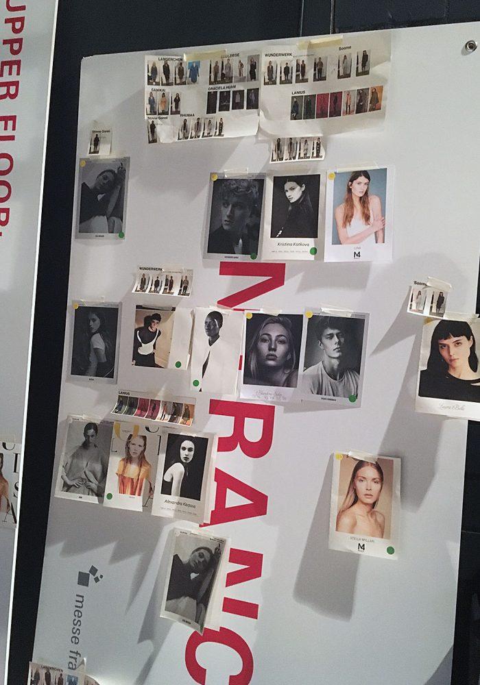 Organisation ist bei einer Fashionshow das A und O.