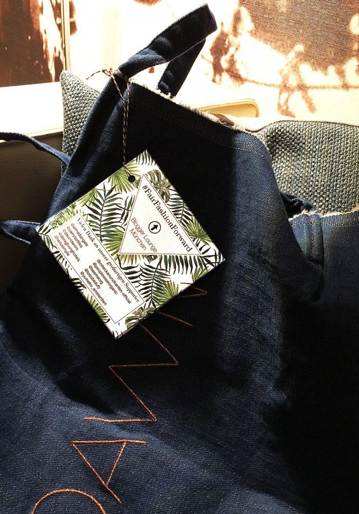 Die Green Blogger Lounge ist eine prima gelgenheit nachhaltige Labels mit Bloggern zu vernetzen. Deshalb gibt es auch immer unsere Good Bag