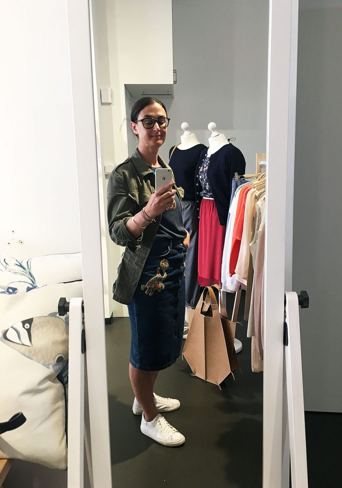 Was wäre ein Fair Fashion Popup ohne mirrorselfie?!