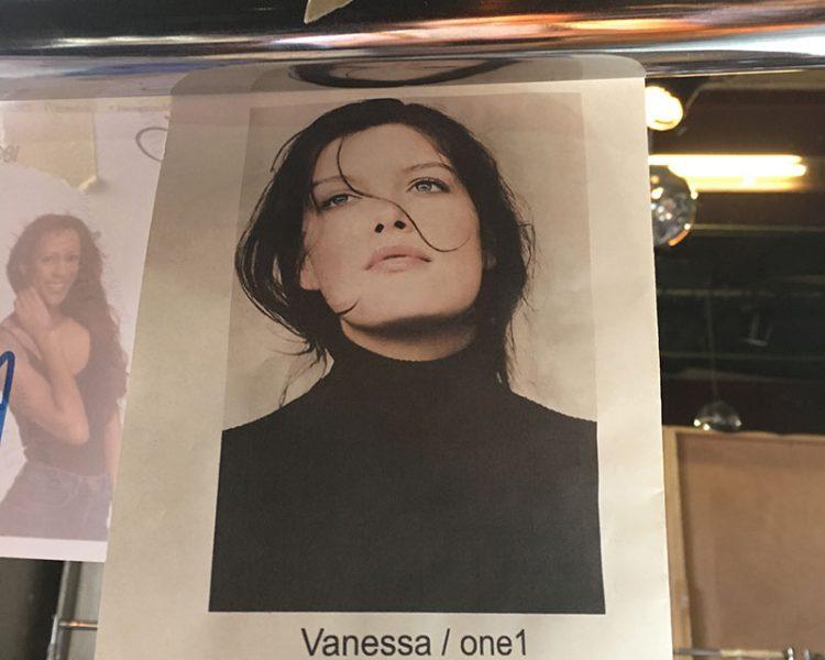 Ich bin gespannt, wie Vanessa nachher auf dem Runway aussieht