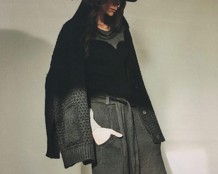 Karin Fraidenraij macht aus Strick Kunst