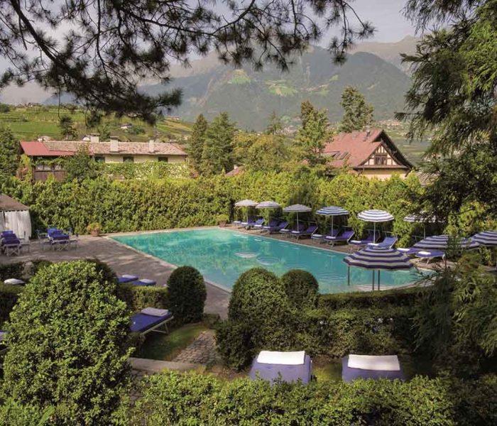 Oase der Ruhe: Pool im Hotel Irma