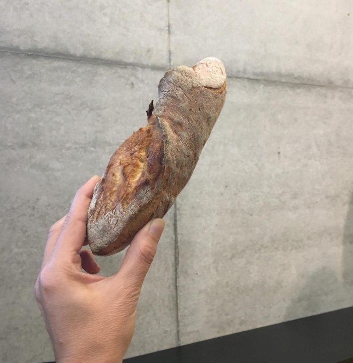 Ja, ich durfte auch mal ran - mein selbstgebackenes Brot