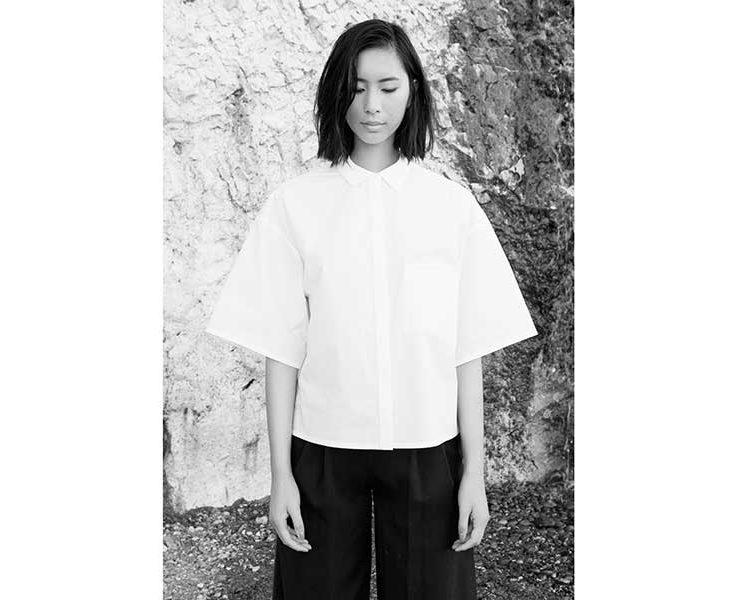 Klassiker: asiatisch inspirierte Bluse (c) Philomena Zanetti
