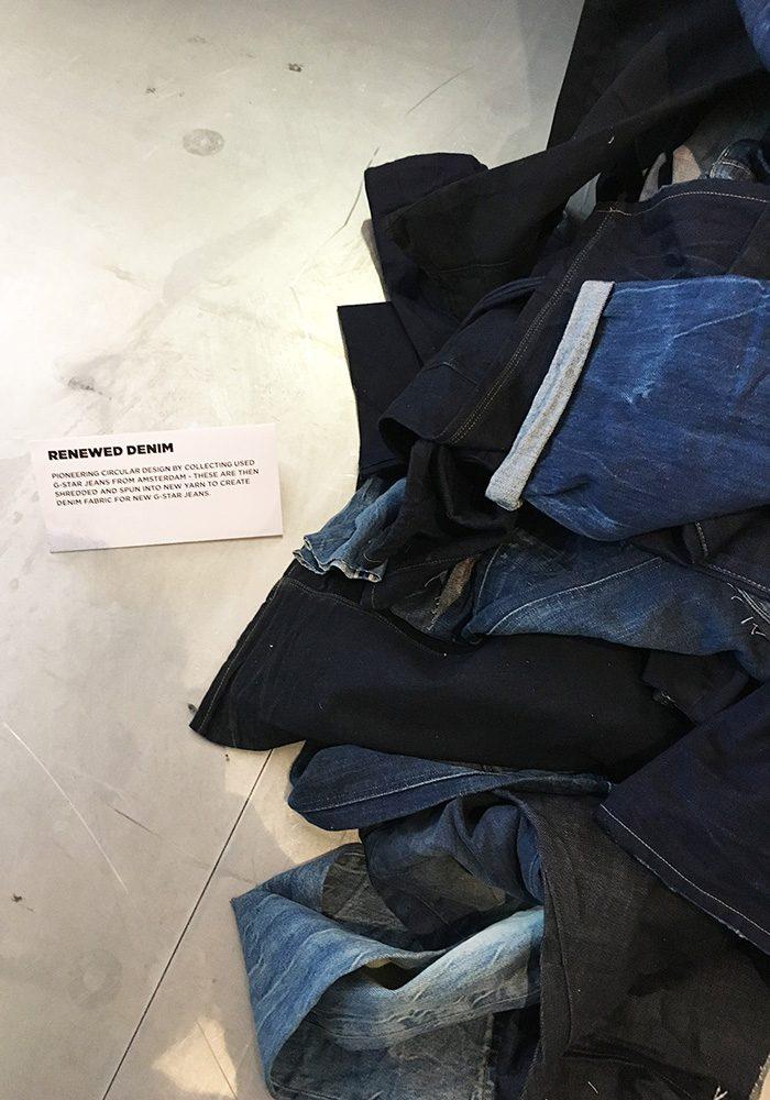 The next big thing: Noch dieses Jahr kommt die Renewed Collection auf den Markt. Gefertigt aus Denim, das in Amsterdam gesammelt wurde.