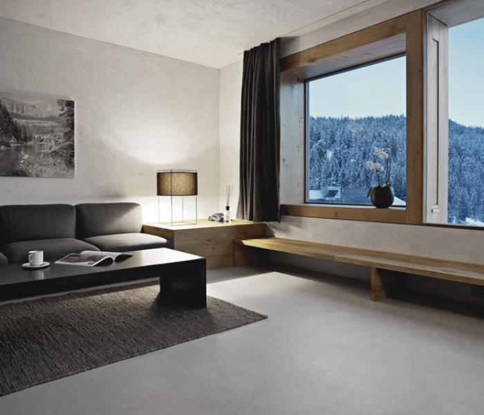 Rocksresort Laax straight rooms