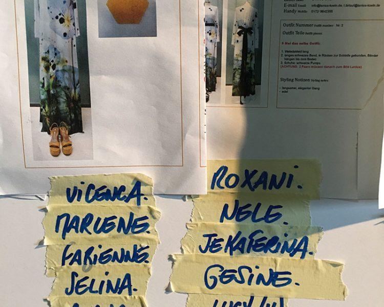 Stylesheep für den Lanius x Weleda Jubiläums-Look